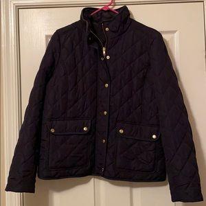 J-crew Quilted Coat